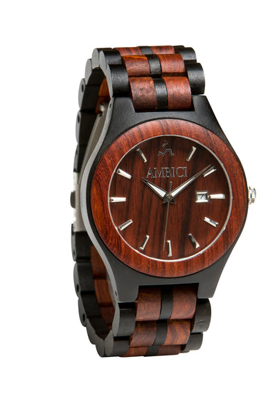 The Red Sandalwood Wood Watch