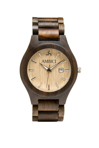 The Maple Ambici Wooden Watch