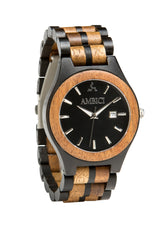 The Ebony Wood Watch - Ambici Wood Watch