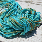 Coral Reef Silk Cords, 2mm to 3mm Silk Cording, Stringing Supplies