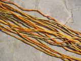 Jewelry Making Silk Cords, Yellow Mix, Stringing Supplies