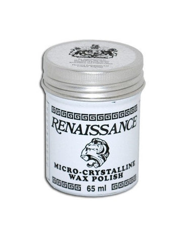 Renaissance Wax Polish 65ml Protection for Metal Wood Leather Paper Steel Tools Jewelry