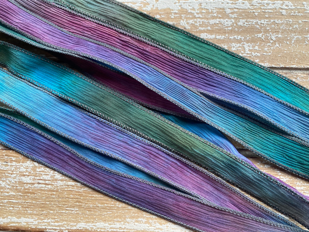 Wildwoods Silk Ribbons Hand Dyed