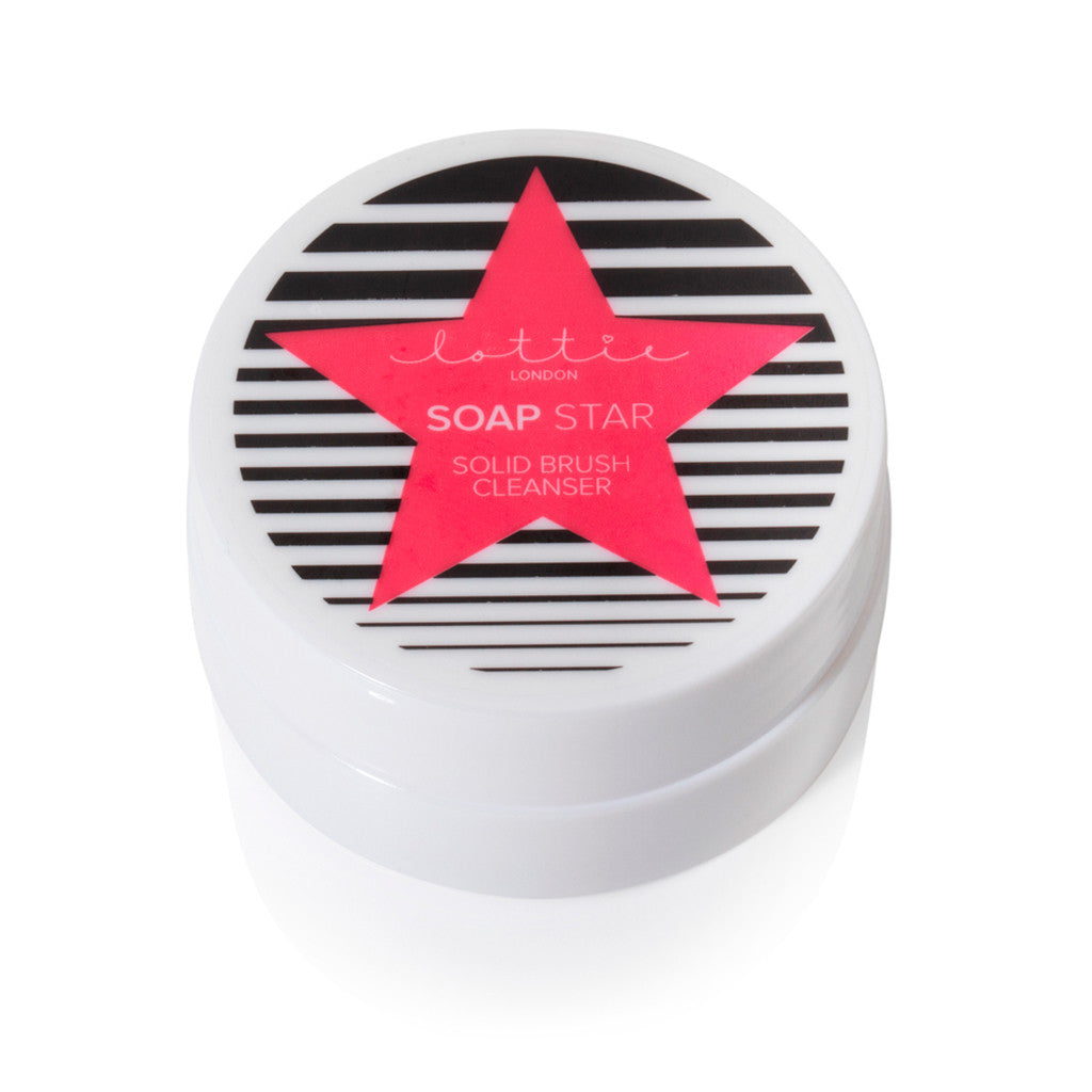 Lottie London Soap Star - Solid Brush Cleanser
