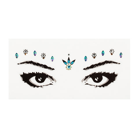 Brow Gems - Glastonbury Glam Festival Gems - Lottie London Australia