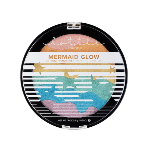 MERMAID GLOW - RAINBOW HIGHLIGHTER - Lottie London Australia