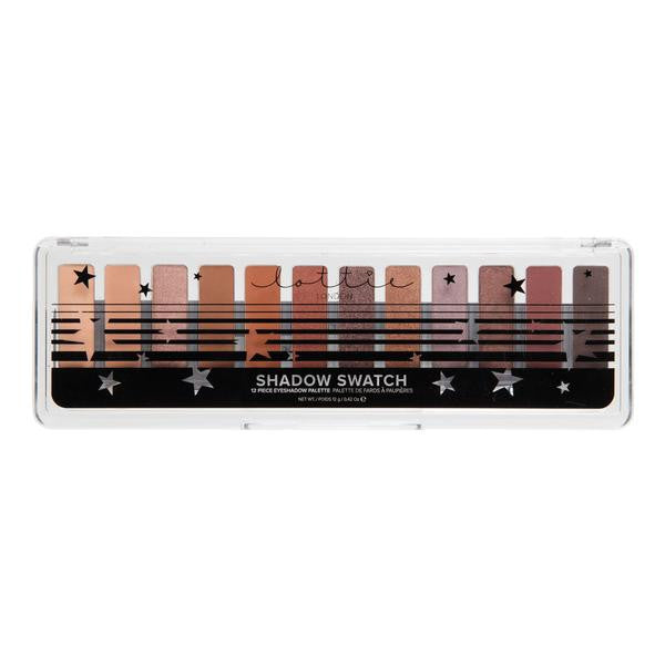 THE RUSTS - 12 PIECE EYESHADOW PALETTE