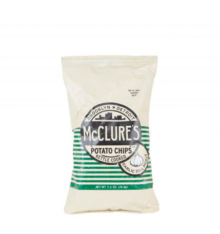 McClure's Garlic & Dill Pickle Chips