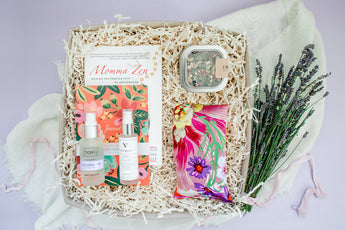 Relax Mama gift box contents