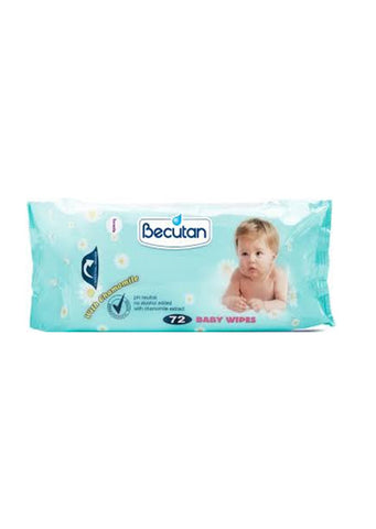 Becutan - Baby wipes with chamomile 72 Pcs