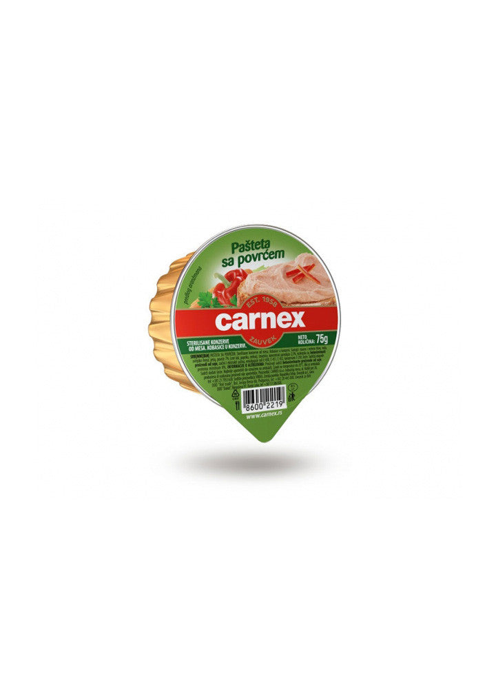 Carnex - Pate with vegetables 75g