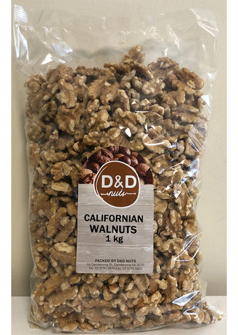 D&D Nuts - Californian walnuts 1Kg