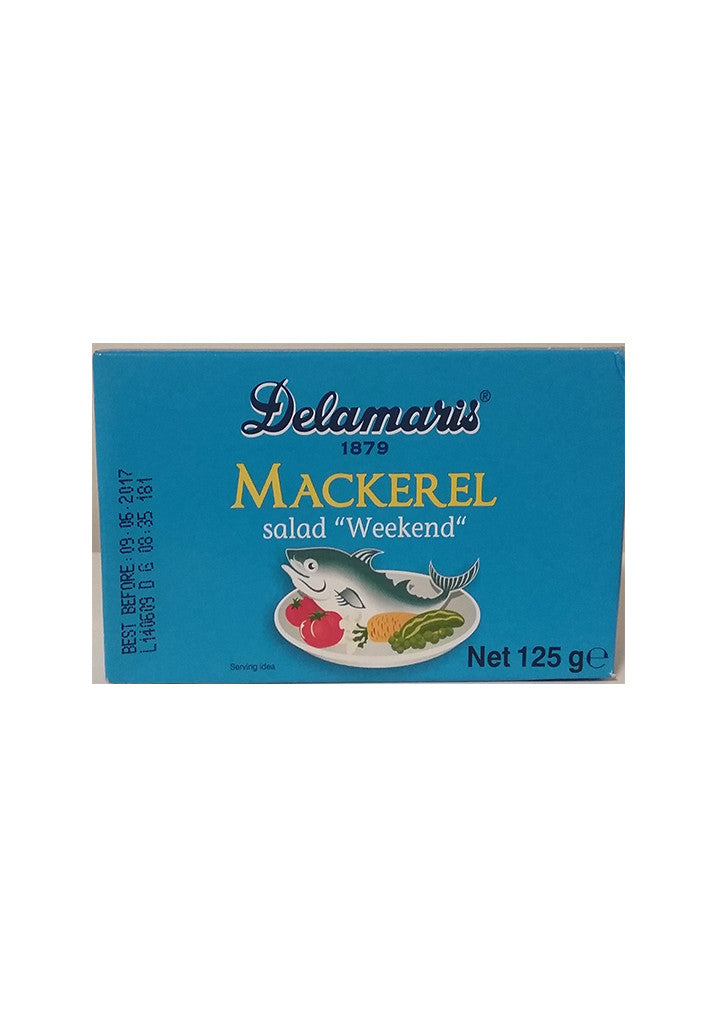 "Delamaris Mackerel - Salad ""Weekend"" 125g"