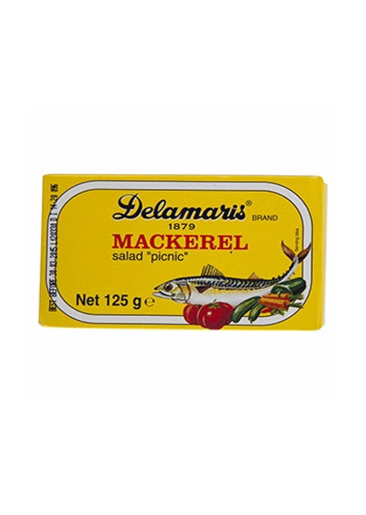 Delamaris - Mackerel salad Picnic 125g