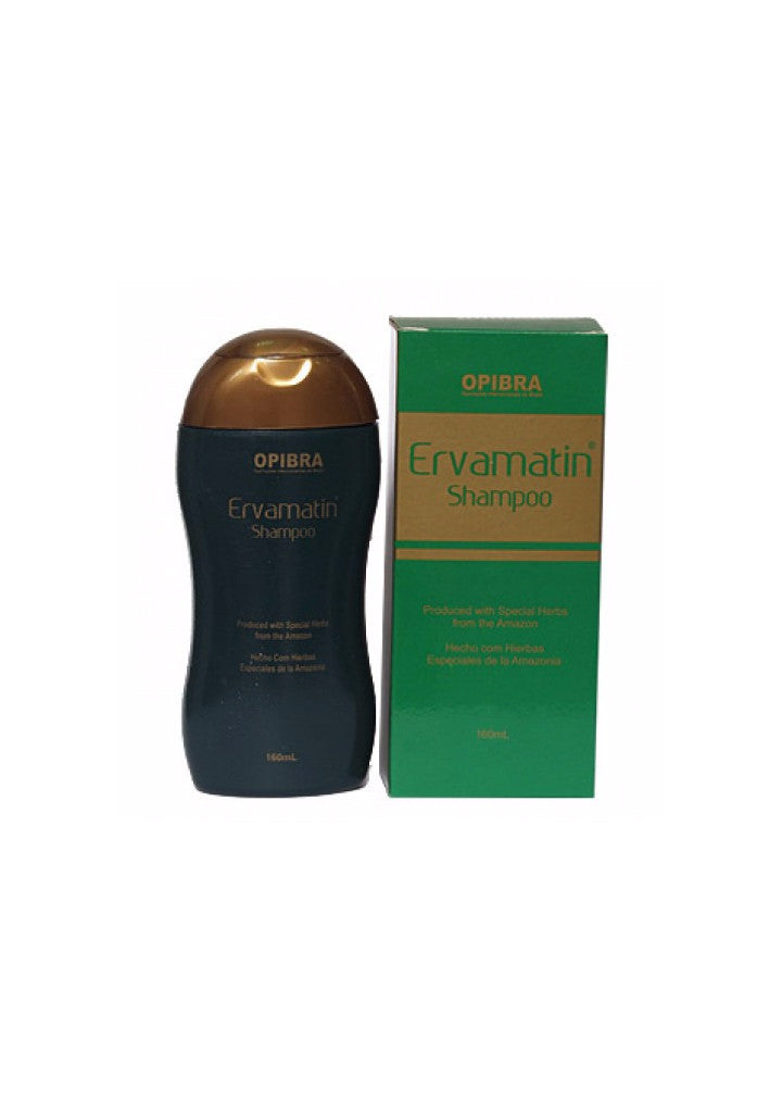 Ervamatin Shampoo 160ml best before:10/20