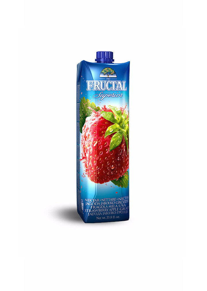 Fructal - Juice strawberry superior 1L