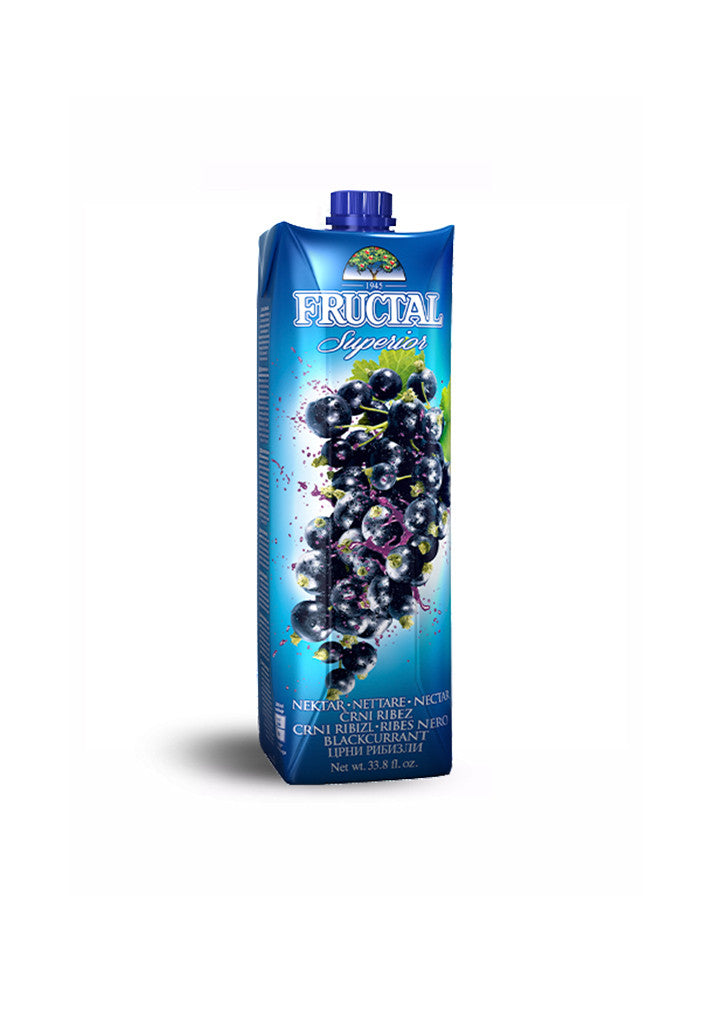 Fructal - Superior blackcurrant juice 1L
