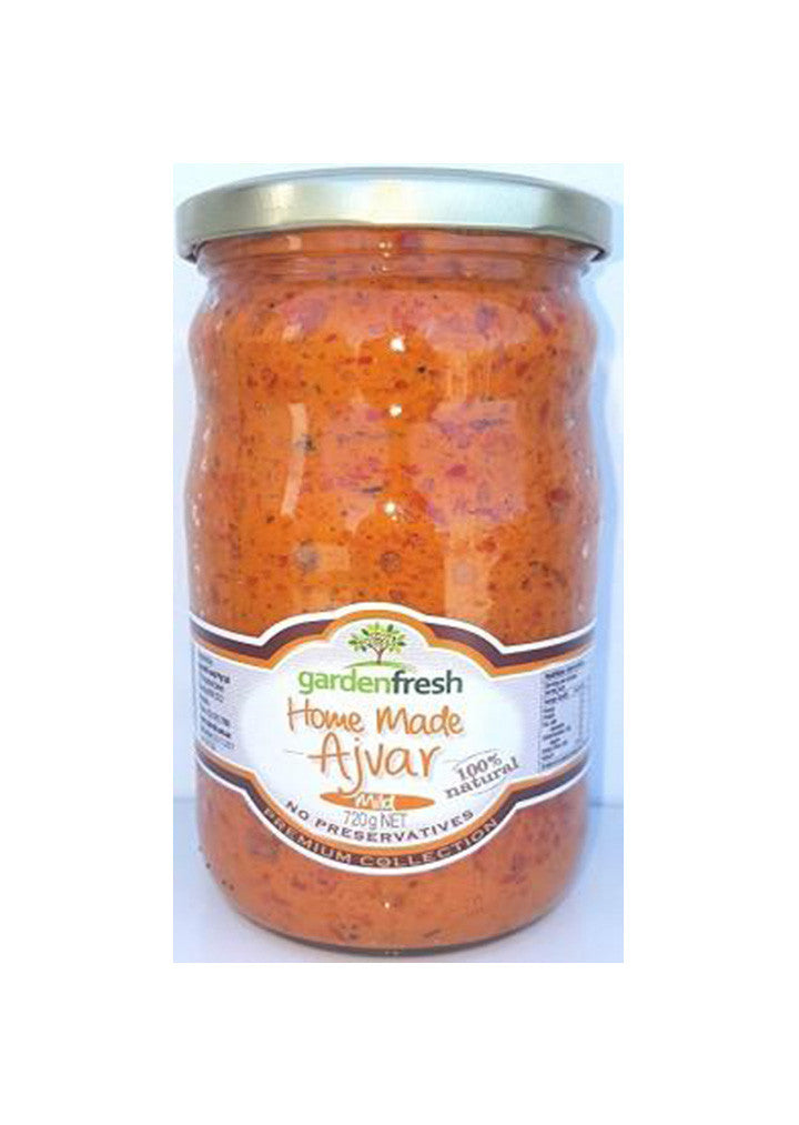 Garden Fresh - Home made ajvar mild 720g