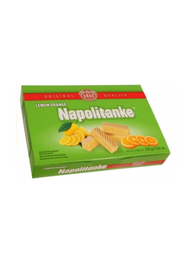 Kraš - Napolitanke Lemon-Orange 330g