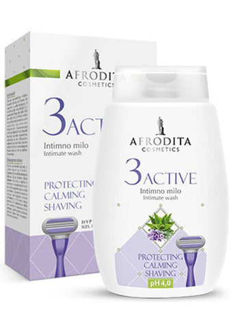 Afrodita cosmetics - 3 ACTIVE intimate wash 200ml
