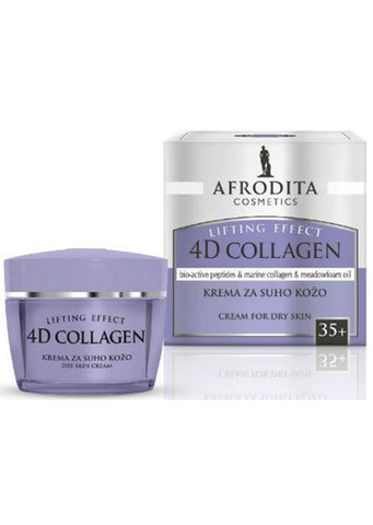 Afrodita cosmetics - 4D COLLAGEN cream for dry skin 50ml / 35+