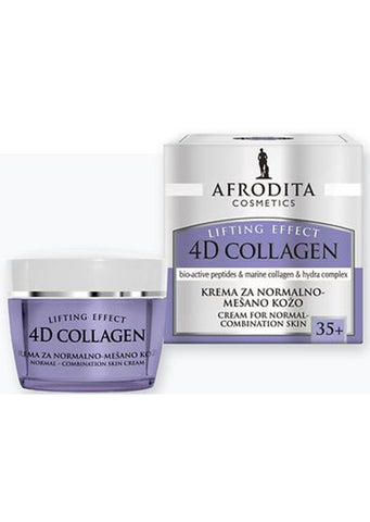 Afrodita cosmetics - 4D COLLAGEN cream for normal-combination skin 50ml / 35+