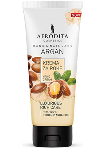 Afrodita cosmetics - Argan hand and nail cream 100ml