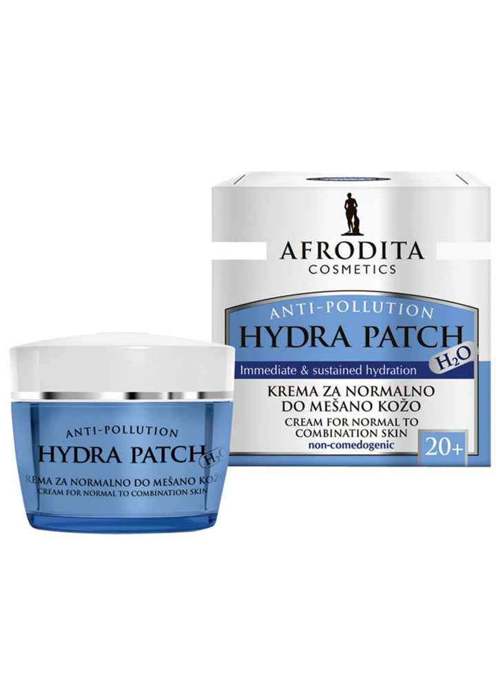 Afrodita cosmetics - HYDRA PATCH cream for normal to combination skin 50ml / 20+