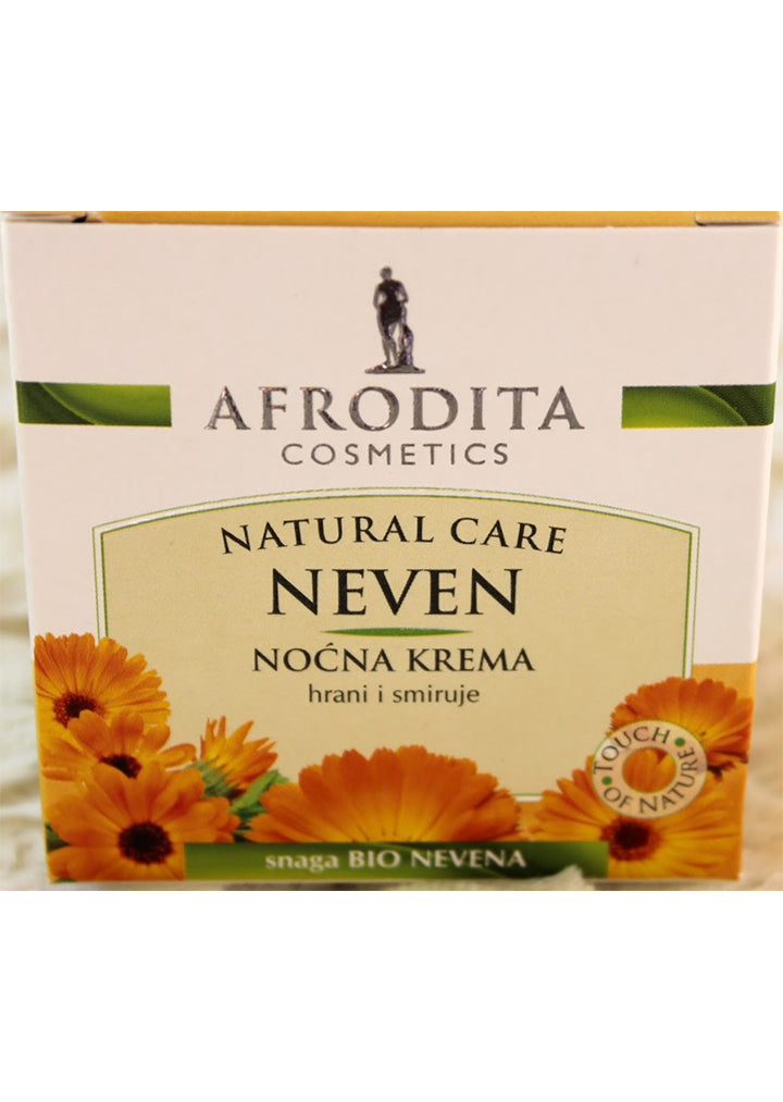 Afrodita cosmetics - Calendula (marigold) night cream 50ml