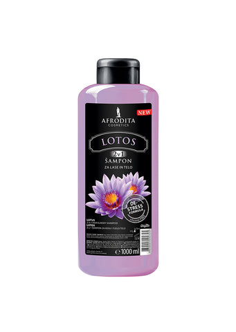 Afrodita cosmetics - Lotos 2in1 Hair & Body shampoo 1L