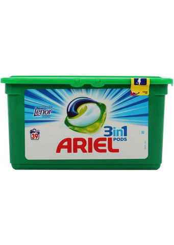 Ariel - 3in1 pods Detergent touch of lenor fresh 39 pods / 1,053kg