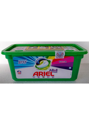 Ariel - All in 1 pods Detergent touch of lenor fresh 28 pods