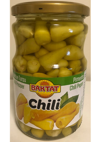 Baktat - Chili pepers 640g
