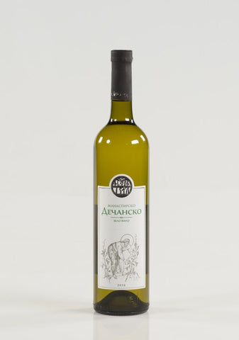 Decani Monastery - White wine 13% vol. Alcohol 750ml