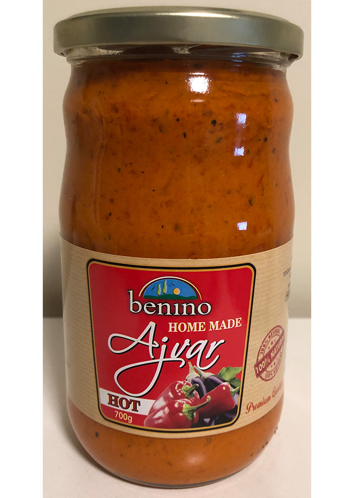 Benino - Home made ajvar hot 700g