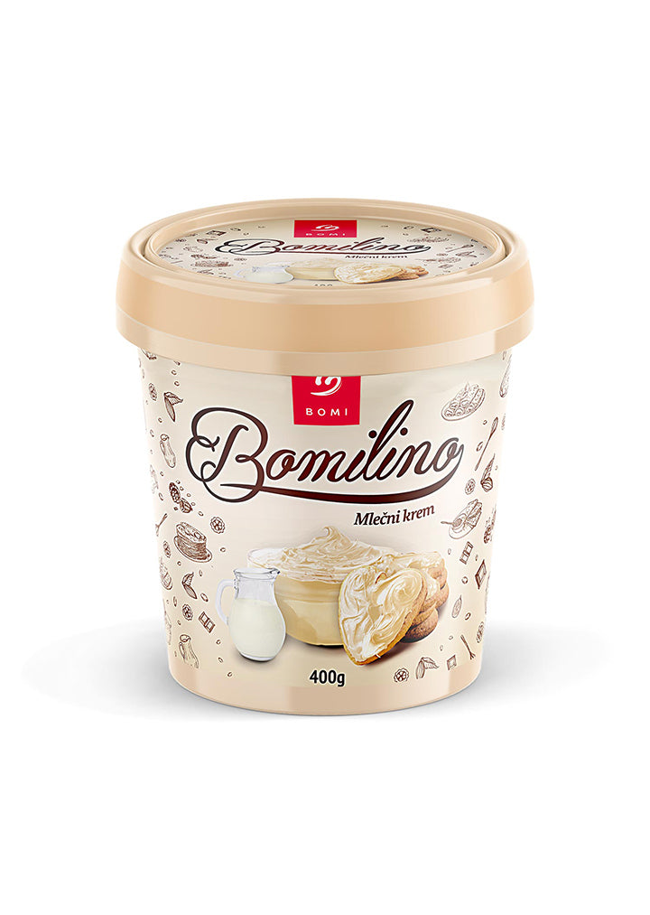 Bomi - Bomilino white milk cream 400g