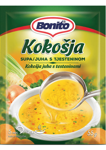 3 X  Bonito  Chicken soup  165g
