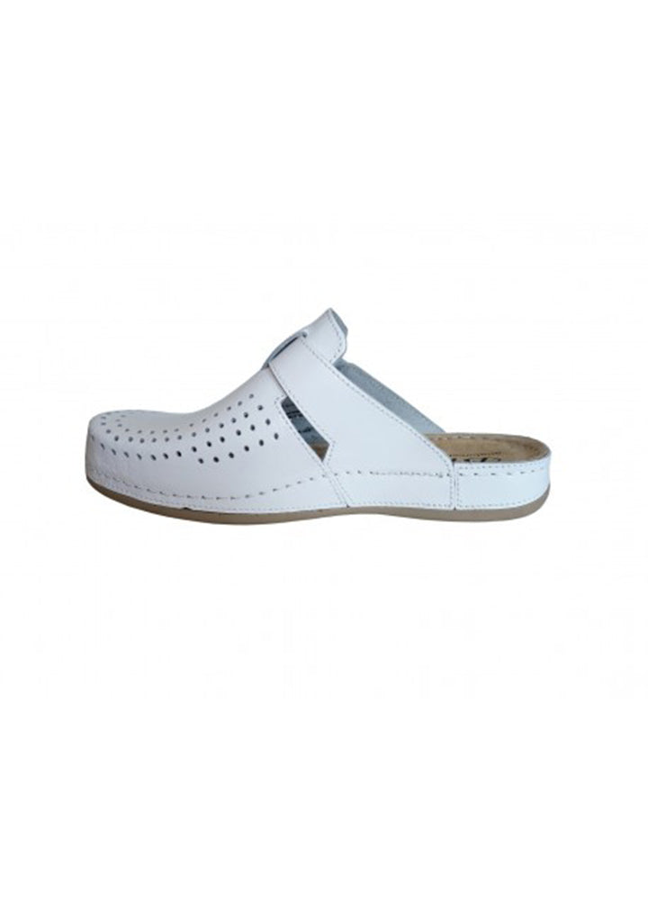 Bril - Womens Clogs White No.39