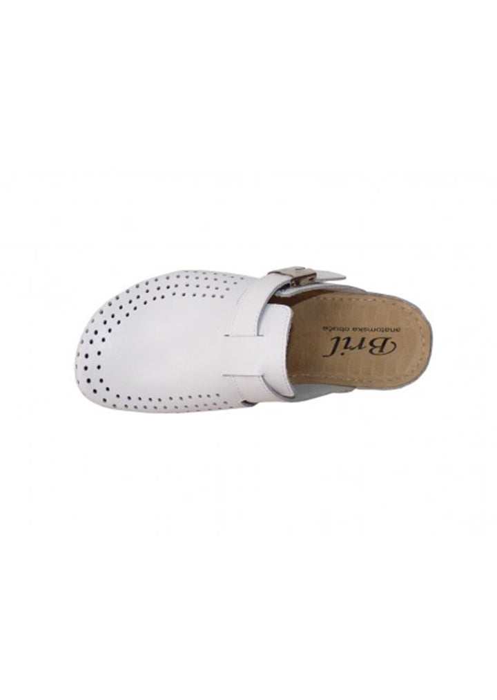Bril - Womens Clogs White No.38