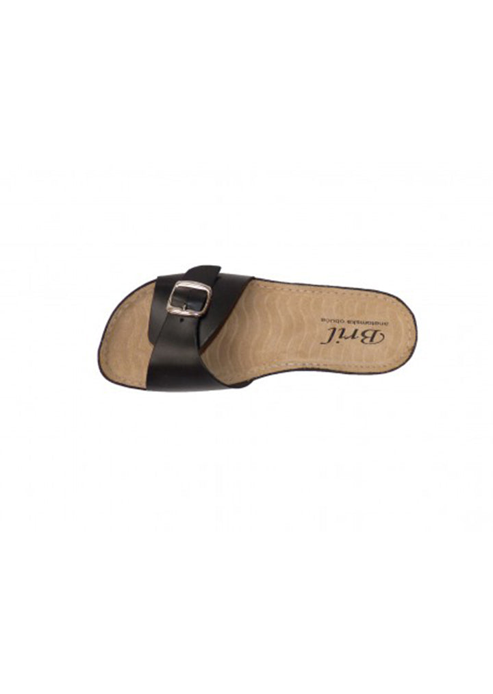 Bril - Womens Summer Slippers Black No.38