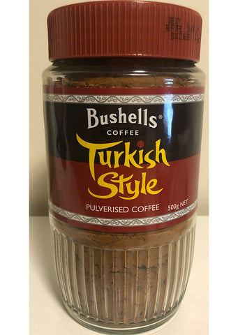 Bushells - Turkish style pulverised coffee 500g