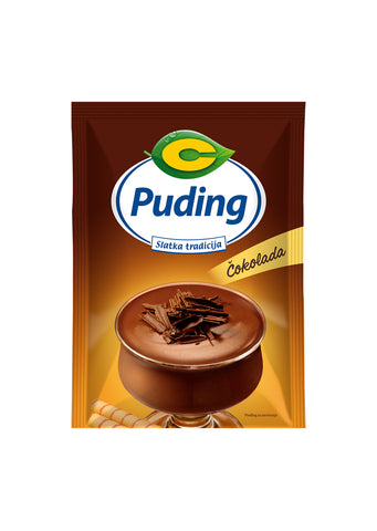 C proizvod - Chocolate pudding 49g