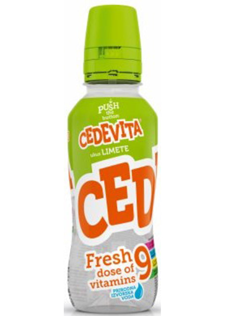 Cedevita GO - Fresh lime 345ml x12pcs BOX