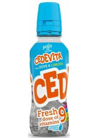 Cedevita GO - Fresh elder & lemon 355ml x12pcs BOX