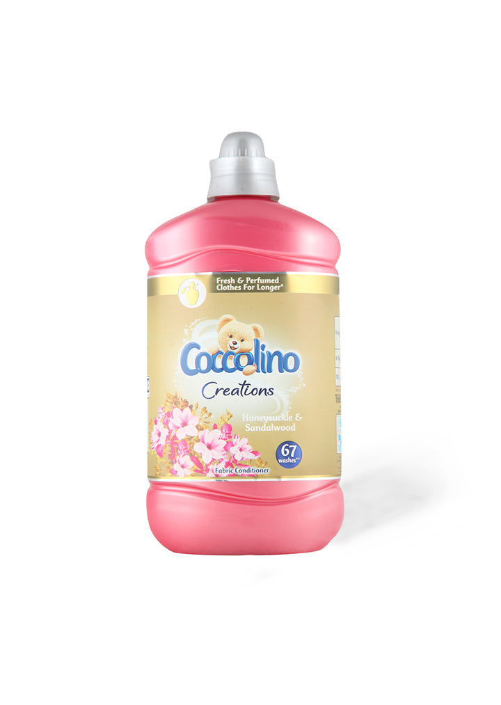 Coccolino - Softener Honeysuckle & Sandalwood 1.680ml (67 washes)
