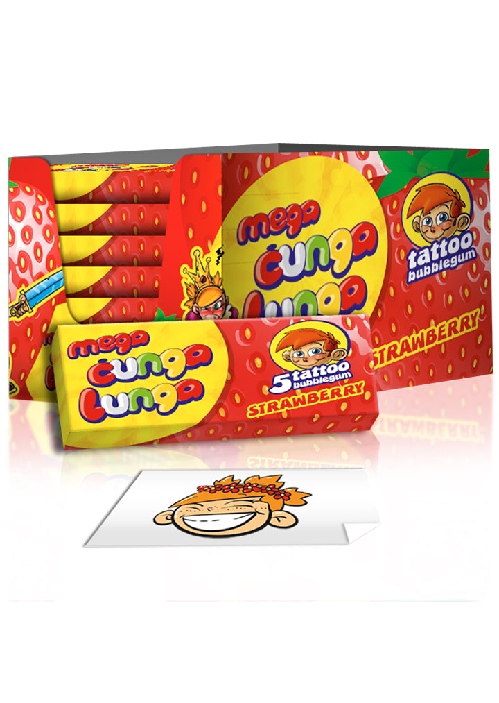 Mega Cunga Lunga - strawberry 15g