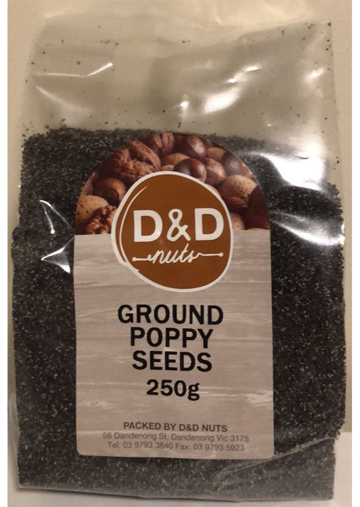 D&D Nuts - Poppy seeds ground 250g