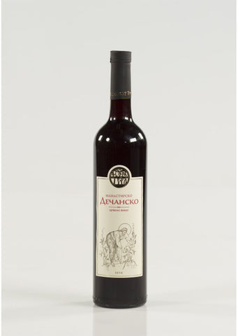 Decani Monastery - Red wine 13.5 % vol. Alcohol 750ml
