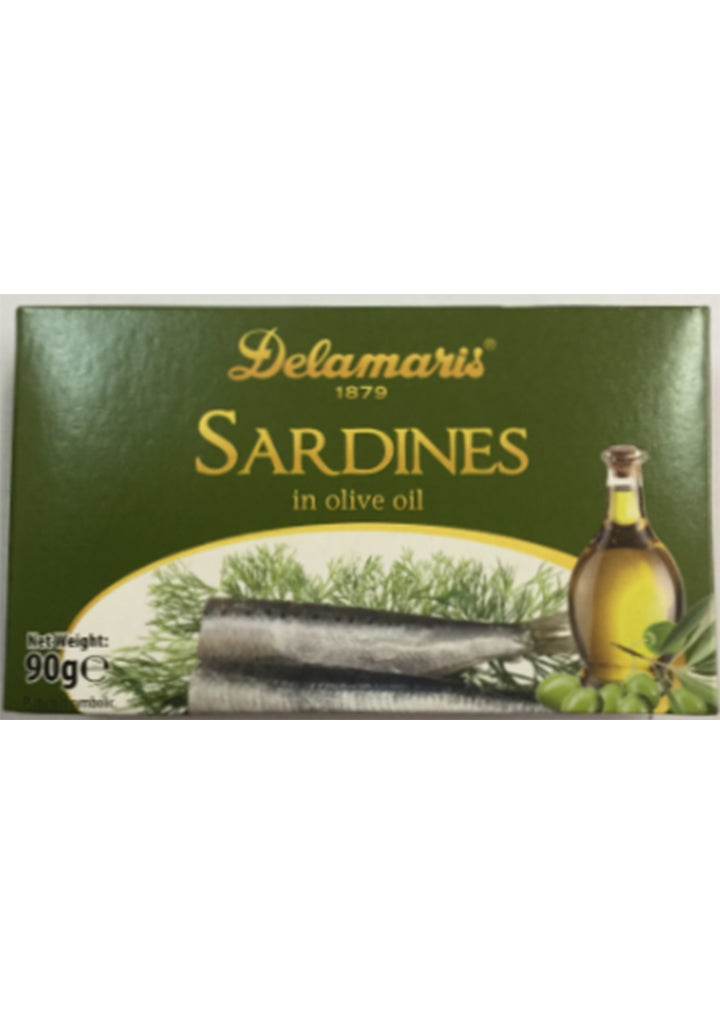 Delamaris - Sardines in olive oil 90g