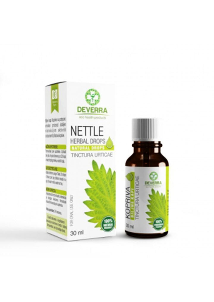 Deverra farm - Nettle herbal drops 30ml